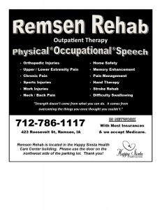 THERAPY NEWSPAPER AD