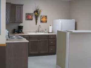 Rehab Kitchen/laundry treatment area